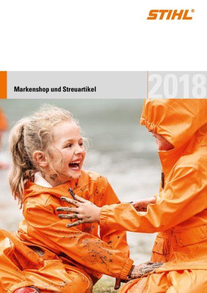 Stihl Werbemittelkatalog 2018